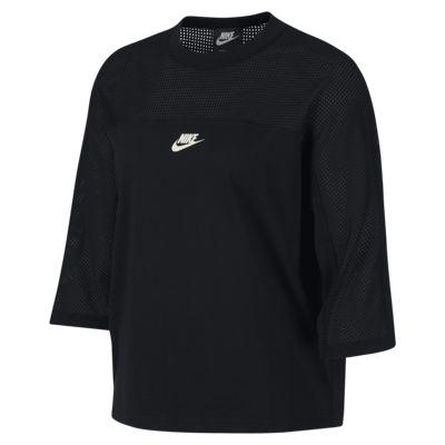 Nike Sportswear Mesh 女子圆领上衣
