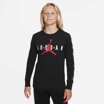Air Jordan Big Kids' Long-Sleeve Top