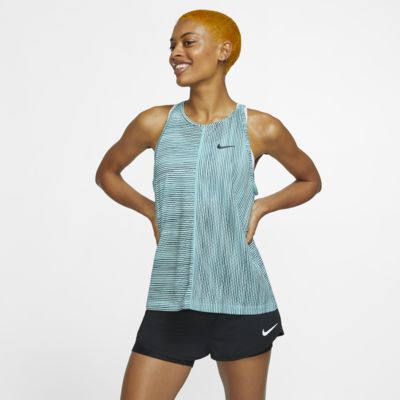 Camisola de ténis sem mangas estampada NikeCourt para mulher