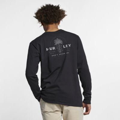 Långärmad t-shirt Hurley Premium Rattler för män