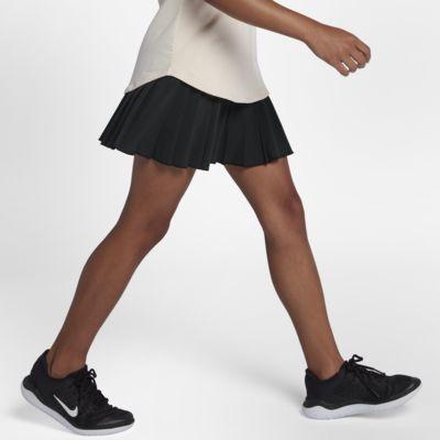 Теннисная юбка для девочек школьного возраста NikeCourt Victory