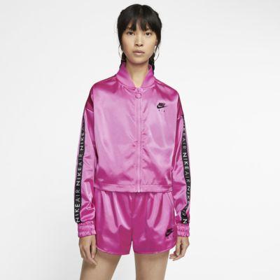Nike Air Satijnen trainingsjack voor dames