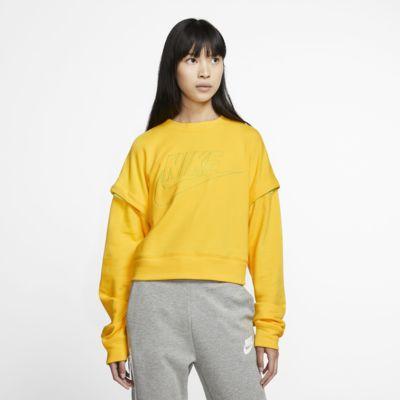 Camisola de lã cardada Nike para mulher
