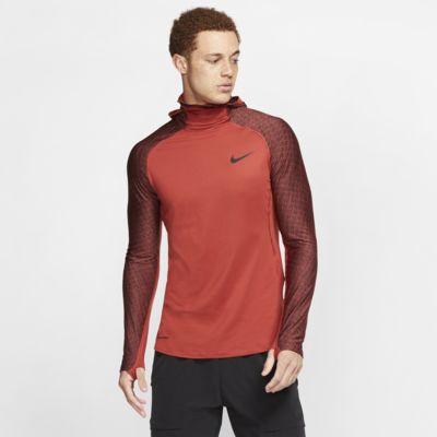 Nike Pro Therma langärmliges Trainings-Hoodie für Herren