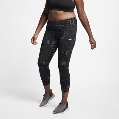 Nike Flash Epic Lux (Plus Size) Women's Printed Running Tights