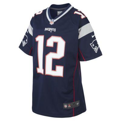 Φανέλα αμερικανικού ποδοσφαίρου NFL New England Patriots (Tom Brady) για μεγάλα παιδιά