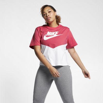 Nike Sportswear Heritage Women's Short-Sleeve Top (Plus Size)