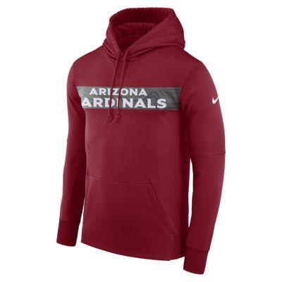 Nike Dri-FIT Therma (NFL Cardinals) Erkek Kapüşonlu Sweatshirt'ü