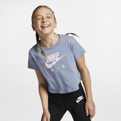 Kort topp Nike Air för ungdom (tjejer)