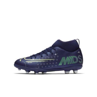 Nike Jr. Mercurial Superfly 7 Club MDS MG többféle talajra készült stoplis futballcipő gyerekeknek/nagyobb gyerekeknek