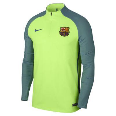 FC Barcelona Strike-fotballtreningsoverdel for herre
