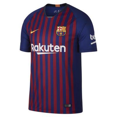 2018/19 FC Barcelona Stadium Home Men's Soccer Jersey