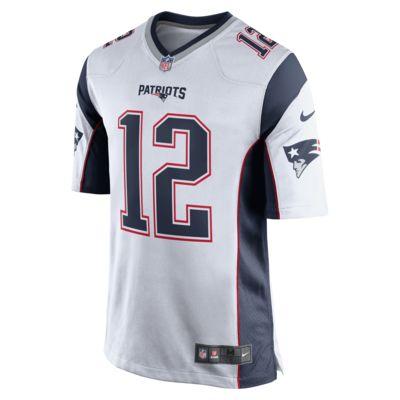 wholesale dealer fb019 bb262 NFL New England Patriots (Tom Brady) Men's Game American Football Jersey