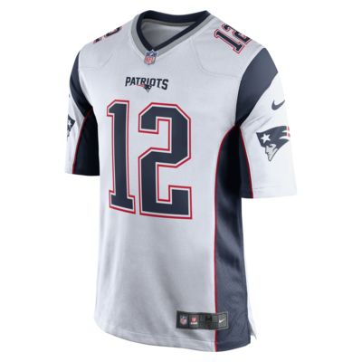 NFL New England Patriots (Tom Brady) Men's Game Football Jersey
