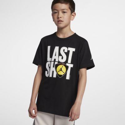 Jordan AJ 14 Logo 大童(男孩)T恤