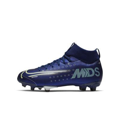 Футбольные бутсы для игры на разных покрытиях для дошкольников/школьников Nike Jr. Mercurial Superfly 7 Academy MDS MG