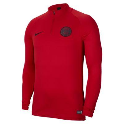 Prenda para la parte superior de entrenamiento de fútbol para hombre Nike Dri-FIT Paris Saint-Germain Strike