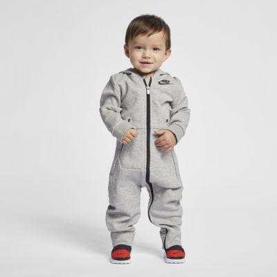 Coverall med huva Nike Sportswear Tech Fleece för baby (12-24 mån)