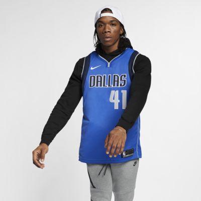 Купить Мужское джерси Nike НБА Dirk Nowitzki Icon Edition Swingman Jersey (Dallas Mavericks) с технологией NikeConnect