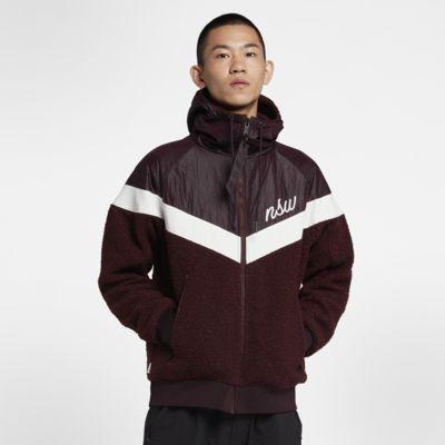 Jacka Nike Sportswear Windrunner i sherpamaterial för män