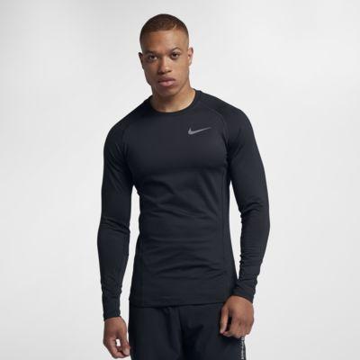 Nike Pro Warm - langærmet træningsoverdel til mænd