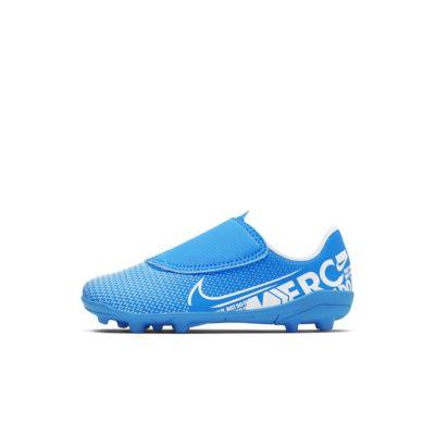 Chuteiras de futebol multiterreno Nike Jr. Mercurial Vapor 13 Club MG para bebé/criança