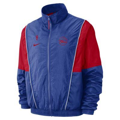 Philadelphia 76ers Nike Men's NBA Tracksuit Jacket