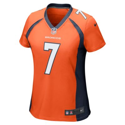 78e14dbe3 NFL Denver Broncos (John Elway) Women s Football Home Game Jersey ...