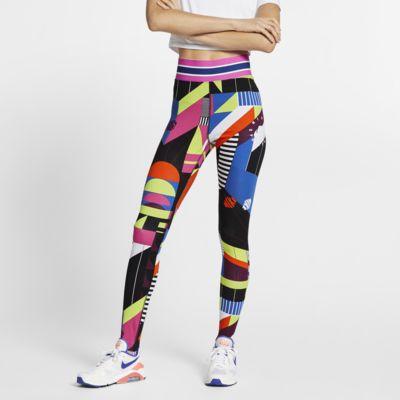 Leggings Nike Sportswear Donna (taglia Plus) Nero Bianco