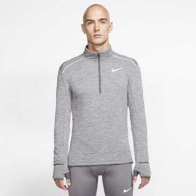 Ανδρική μπλούζα για τρέξιμο με φερμουάρ στο μισό μήκος Nike Therma Sphere 3.0