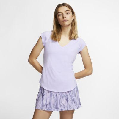 Γυναικεία μπλούζα τένις NikeCourt Pure