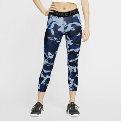 Женские укороченные тайтсы с принтом Nike Pro