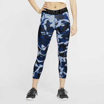 Nike Pro Damen-Crops mit Print