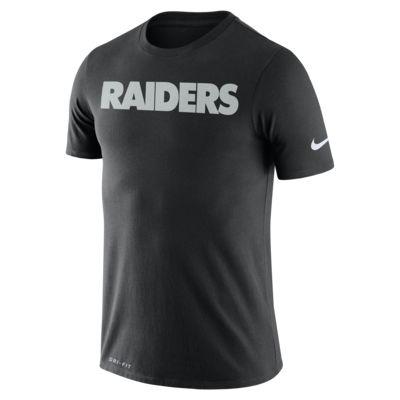 Playera para hombre Nike Dri-FIT (NFL Raiders)