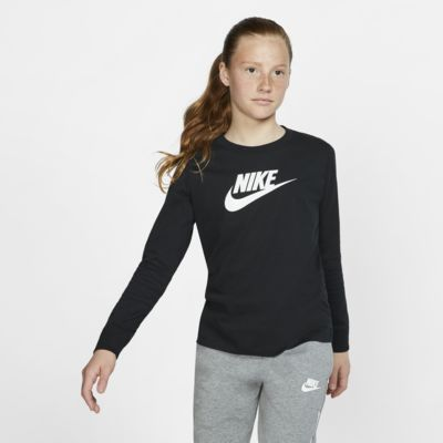 Nike Sportswear Older Kids' Long-Sleeve T-Shirt