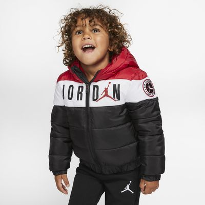 Jordan Jumpman Toddler Colour-Blocked Puffer Jacket