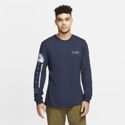 Hurley Premium Right Arm Long-Sleeve Men's Premium Fit T-Shirt