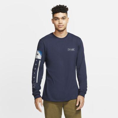 T-shirt com ajuste premium Hurley Premium Right Arm Long-Sleeve para homem