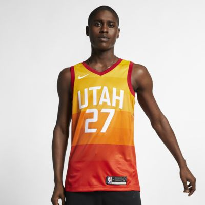 Rudy Gobert City Edition Swingman (Utah Jazz) Men's Nike NBA Connected Jersey