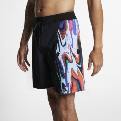 Boardshorty męskie Hurley Phantom Hyperweave Voodoo 46 cm