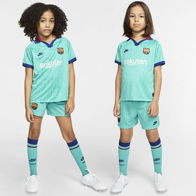 FC Barcelona 2019/20 Third Younger Kids' Football Kit