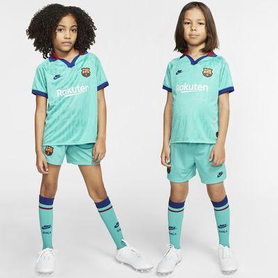 Kit de fútbol alternativo para niños talla pequeña del FC Barcelona 2019/20