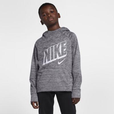 Nike Therma Big Kids' (Boys') Pullover Training Hoodie