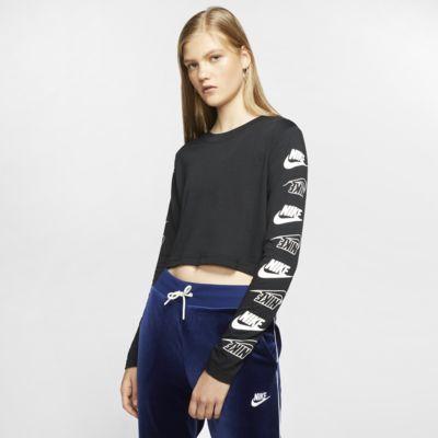 Damski T-shirt z długim rękawem Nike Sportswear