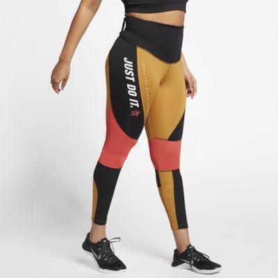 Träningstights Nike Power för kvinnor (stora storlekar)