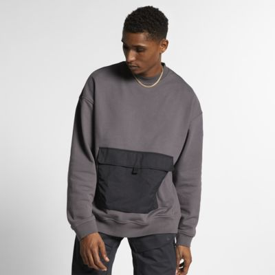 Nike Quest Fleece Long-Sleeve Crew
