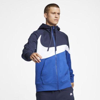 Мужская худи из ткани френч терри с молнией во всю длину Nike Sportswear