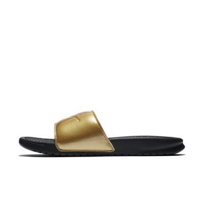 Nike Benassi JDI Metallic-badesandal til kvinder