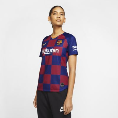 Женское футбольное джерси FC Barcelona 2019/20 Stadium Home