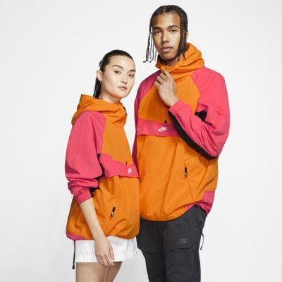 Giacca con cappuccio Nike Sportswear in tessuto woven